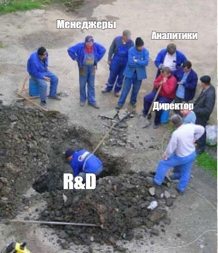 R&D в жизни